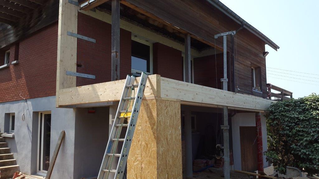 Top Agrandissement ossature bois aux PETITES DALLES - Fabrication sur  YW31