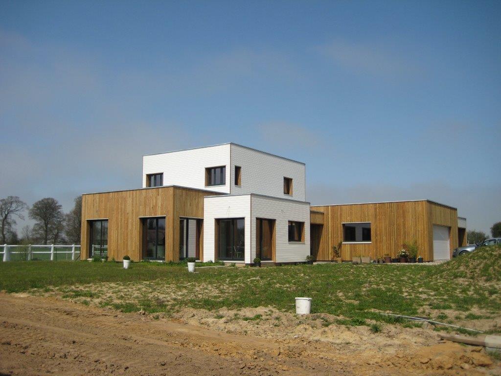 Mob maison ossature bois grege fabrication sur mesure menuiserie int rieur et exterieur - Garage ossature bois sur mesure ...